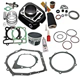 NEW! YAMAHA WARRIOR 350 CYLINDER PISTON GASKET OIL FILTER AIR FILTER TOP END KIT SET 1987 1988 1989 1990 1991 1992 1993 1994 1995 1996 1997 1998 1999 2000 2001 2002 2003 2004