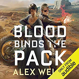 Blood Binds the Pack audiobook cover art
