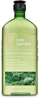 Bath and Body Works Body Care Aromatherapy - Body Wash + Foam Bath - 10 fl oz - Many Scents! (Zen Garden - Mimosa Pink Pep...