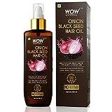 WOW Aceite de semillas negras de cebolla, promueve el crecimiento del cabello, controla la caída del cabello, sin aceite mineral ni siliconas, 200 ml