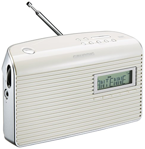 Grundig Music 7000 DAB+ Radio, weiß/silber