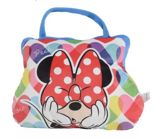 Disney 38 x 27cm Minnie Mouse Cushion to Go Printed