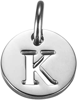 Extra Small Initial Charm for Necklace Bracelet Small Pendant Custom Charm