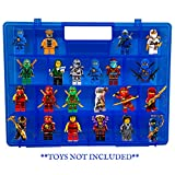 Life Made Better Protector Carrying Case, Compatible with Lego Ninjago Mini Ninja Figurines, This Box is Not Created by Lego