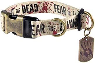 Crowded Coop Fight Dead, Fear Living Collar - XL