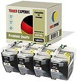 4 XL TONER EXPERTE® Compatibles LC3219XLBK LC3219XL Cartuchos de Tinta para Brother MFC-J5330DW MFC-J5335DW MFC-J5730DW MFC-J5930DW MFC-J6530DW MFC-J6930DW MFC-J6935DW (4 Negro)