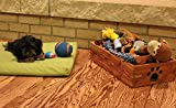 Dynamic Accents Pet Toy Box Antique Black