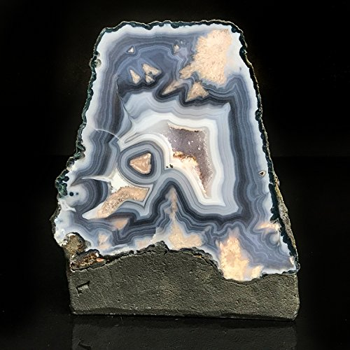 Azul Encaje Ágata Amatista geoda–bla4