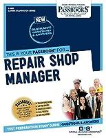 Repair Shop Manager (Career Examination)