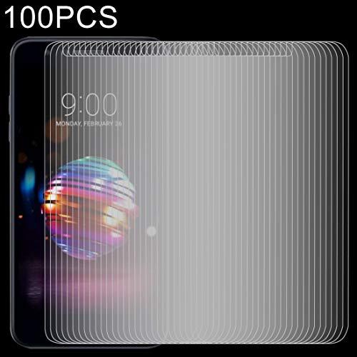 Dongdexiu Protectores de Pantalla de telefonía sólida 100 PCS 0.26mm 9H 2.5D película Protectora de Vidrio Templado for LG K10 (2018)