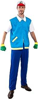 Adult Pokemon Ash Costume, Size Standard