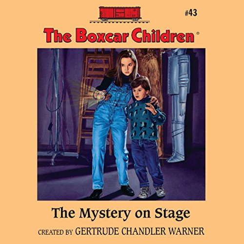 The Mystery on Stage audiobook cover art