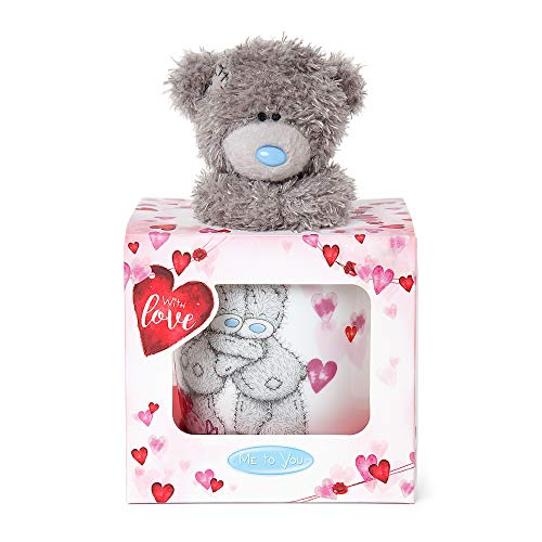 Me to You VGZ01016 Me to You Love Heart taza y Tatty Teddy Bear Set de regalo
