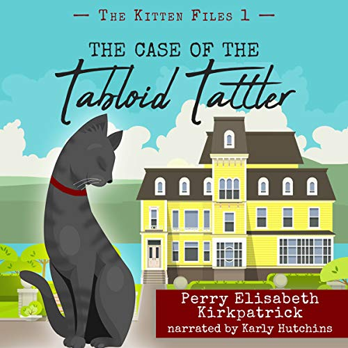 The Case of the Tabloid Tattler audiobook cover art