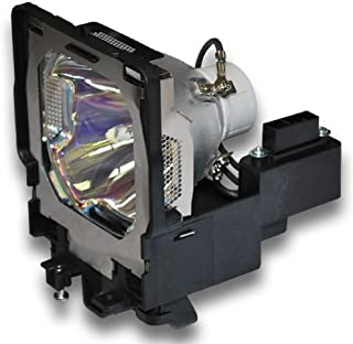 Compatible Sanyo Projector Lamp, Replaces Model PLC-XF47 with Housing