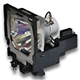AmpacElectronics PLC-XF47 PLCXF47 Replacement Lamp with Housing for Sanyo Projectors