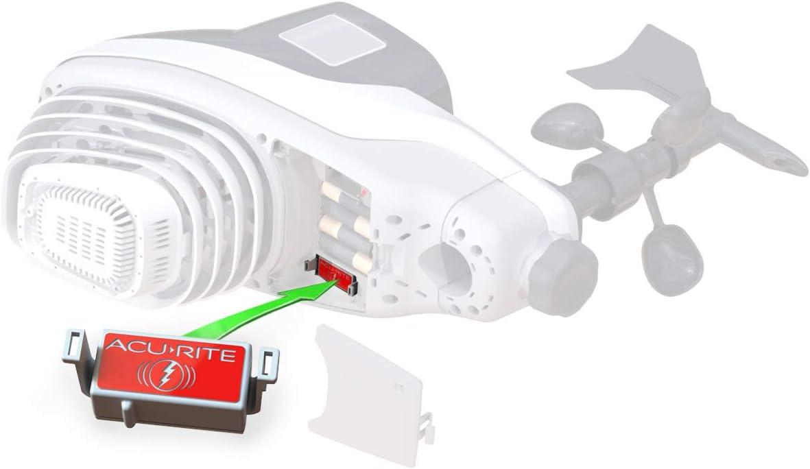AcuRite Lightning Detector Popular popular Atlas Seasonal Wrap Introduction Station Weather Red