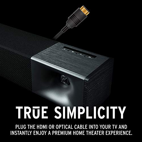 Product Image 4: Klipsch Cinema 600 Sound Bar 3.1 Home Theater System with HDMI-ARC for Easy Set-Up, Black