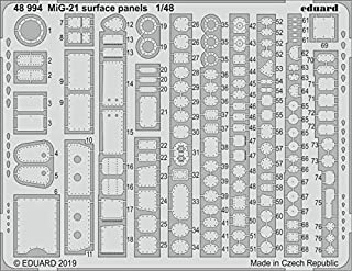Eduard 1:48 MiG-21 Surface Panels PE Detail Set Kit #48994