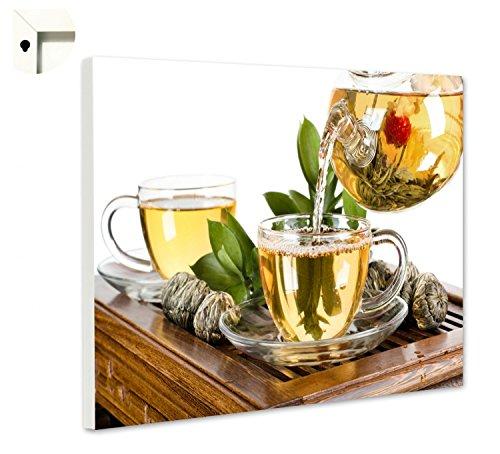 Magneetbord prikbord met motief keuken thee ceremonie met theebloem