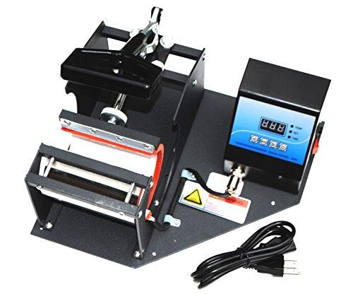 Sican Black Coffee Cup Mug Heat Sublimation Press Transfer Printing Machine