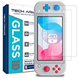 Tech Armor HD Clear Ballistic Glass Screen Protector Compatible With Nintendo Switch Lite 2019 [2-Pack] - 99.99% Clarity and Touchscreen Accuracy
