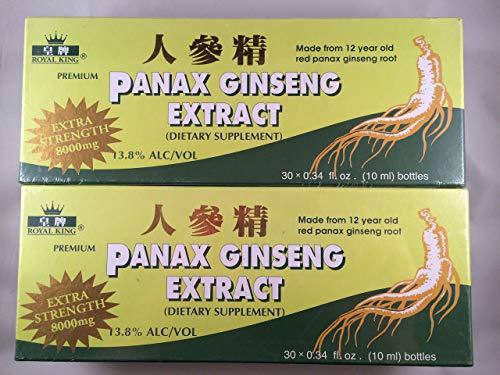 Royal King - Red Panax Ginseng Extract 8000mg (30...