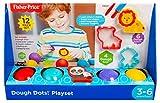 Dough Dots - Juego de 4 latas de amasado y accesorios (12 piezas)