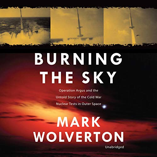 Burning the Sky audiobook cover art