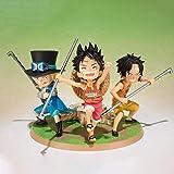 Yooped Tamashii Nations Figuarts Zero Action Figure - Rufy Ace Sabo -Gikyoudai No Yakusoku- de One Piece