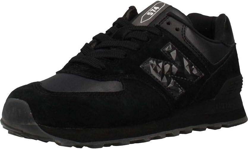 New Balance 574 Vno Baskets Femme Noir