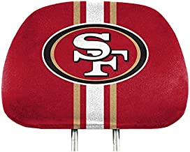 NFL - San Francisco 49ers 2 Piece Full Color Headrest Cover Set