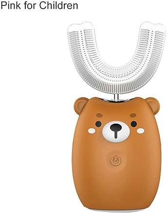 電動歯ブラシ 電動はぶらし 自動式 音波振動歯ブラシ 超音波歯ブラシ U型?360°全方位 口腔洗浄器 美歯 清潔/マッサージ/ホワイトニング機能付 バッテリー容量450mAh U型電動歯ぶらし ソニック振動ハブラシ ワイヤレス充電