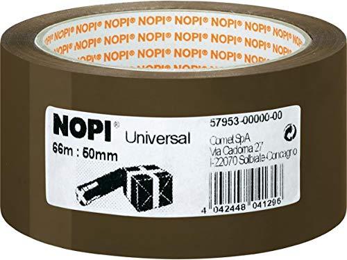 Nopi Universal Packband, braun, 66m:50mm