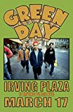 Green Day Replica Irving Plaza NYC 1994 Concert Poster