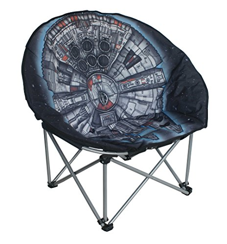 Star Wars Full Size Millennium Falcon Foldable Moon Chair