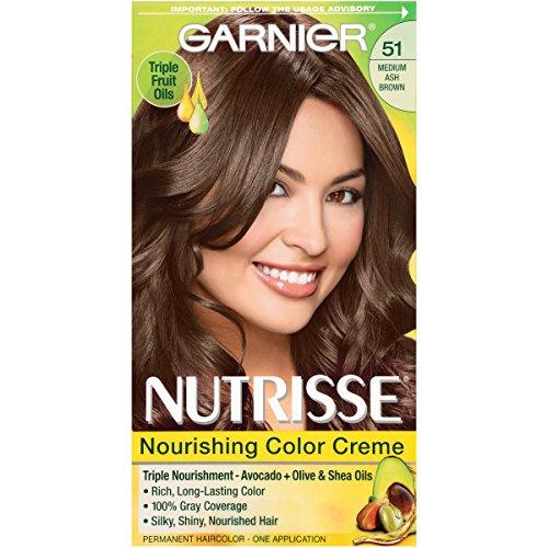 Garnier Nutrisse Nourishing Color Creme 51 Medium...