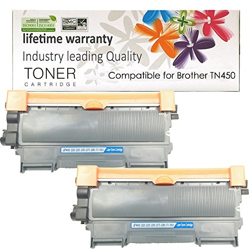 Shop at 247 Compatible Toner Cartridge Replacement for Brother TN450 (2-Pack)