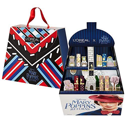 L'Oréal Paris MakeUp Cofanetto Idea Regalo Make Up Disney, Collezione in Edizione Limitata Mary Poppins, 7 Rossetti Color Riche, Texture Cremosa ed Idratante
