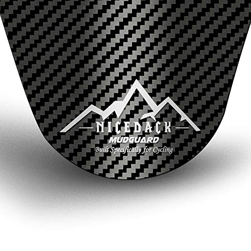 NICEDACK Bike Fender, MTB Mud Guard Front and Rear Compatible, Downhill Mountain Bike Mudguard Fits 650B 20