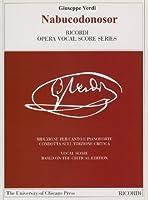 ヴェルディ : オペラ「ナブッコ」/リコルディ社/批判校訂版/ピアノ・ヴォーカル・スコア