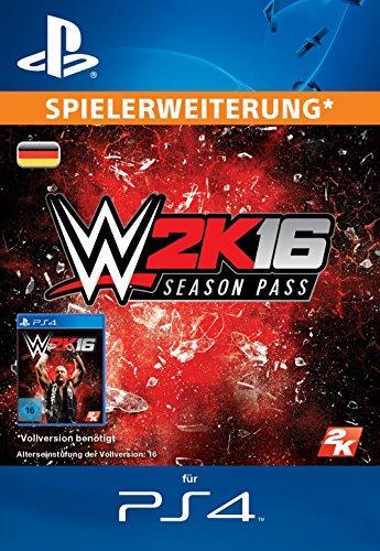 WWE 2K16 : Season Pass [Spielerweiterung] [PS4 PSN Code - deutsches Konto]