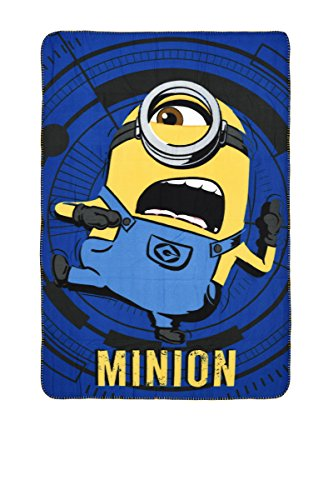Party Factory Minions Despicable Me – Couverture Polaire – Couverture (100 x 150 cm)