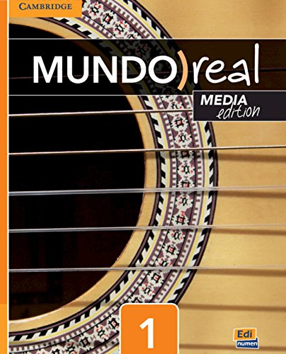 Mundo Real Media Edition Level 1 Student's Book Plus 1-Year Eleteca Access