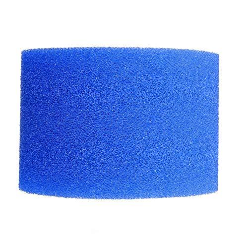 Pvnoocy Schwimmbadfilter, waschbar, wiederverwendbar, Schaumstoff-Reiniger für Intex Typ H/A/S1 10.8*7.3*4cm blau