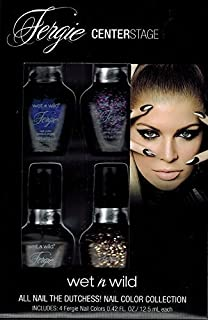 Wet N Wild Fergie Center Stage Nail Color Collection, 4pc