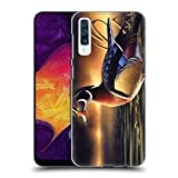 Official Chuck Black Backwoods Marsh Bird Art Hard Back Case Compatible for Samsung Galaxy A50s (2019)