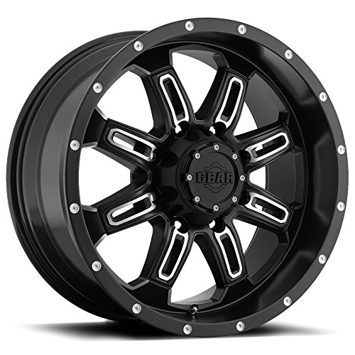 """Gear Alloy 725MB DOMINATOR Wheel with Machined Finish (18x9""""/8x6.5"""", +18mm Offset)"""