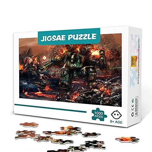 Mini Puzzles Für Erwachsene 1000 Teile Battletech Das Brettspiel 1000 Teile Puzzle Farbpuzzles Fun Puzzles Super Schwierige Puzzles 38X26Cm