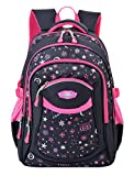 COOFIT Cartable Fille Sac Ecole Fille en Nylon Cartable Enfant Primaire Sac a Dos Fille College...